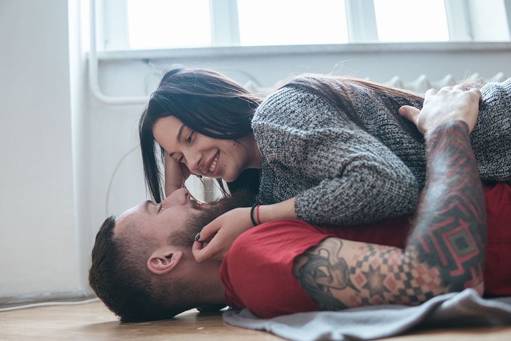 couple who use hookup dating site