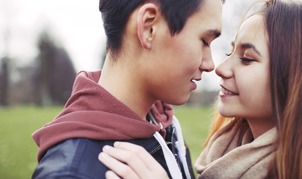 lovely asian couple